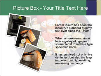 Rolled and sushi PowerPoint Templates - Slide 17