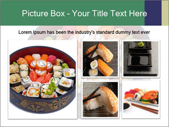 Rolled and sushi PowerPoint Templates - Slide 19