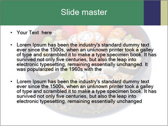 Rolled and sushi PowerPoint Templates - Slide 2