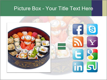 Rolled and sushi PowerPoint Templates - Slide 21