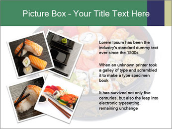 Rolled and sushi PowerPoint Templates - Slide 23