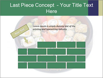 Rolled and sushi PowerPoint Templates - Slide 46