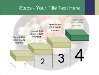 Rolled and sushi PowerPoint Templates - Slide 64