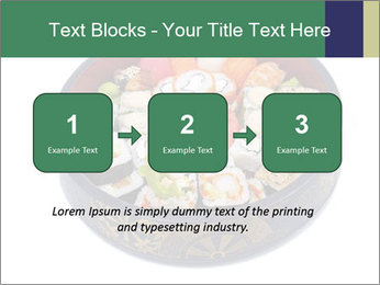 Rolled and sushi PowerPoint Templates - Slide 71
