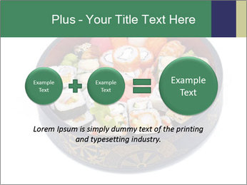 Rolled and sushi PowerPoint Templates - Slide 75