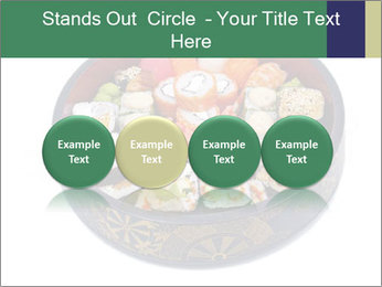 Rolled and sushi PowerPoint Templates - Slide 76