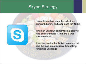 Rolled and sushi PowerPoint Templates - Slide 8