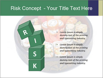 Rolled and sushi PowerPoint Templates - Slide 81