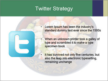 Rolled and sushi PowerPoint Templates - Slide 9