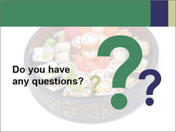 Rolled and sushi PowerPoint Templates - Slide 96