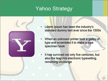 Woman telling secrets PowerPoint Template - Slide 11