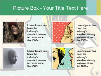 Woman telling secrets PowerPoint Template - Slide 14