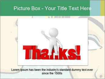 Woman telling secrets PowerPoint Template - Slide 15