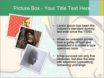Woman telling secrets PowerPoint Template - Slide 17