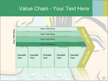 Woman telling secrets PowerPoint Template - Slide 27