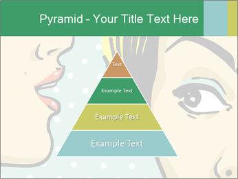 Woman telling secrets PowerPoint Template - Slide 30