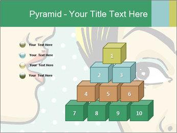 Woman telling secrets PowerPoint Template - Slide 31