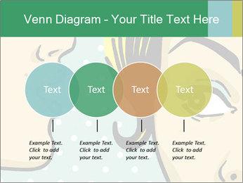 Woman telling secrets PowerPoint Template - Slide 32