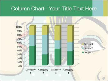 Woman telling secrets PowerPoint Template - Slide 50