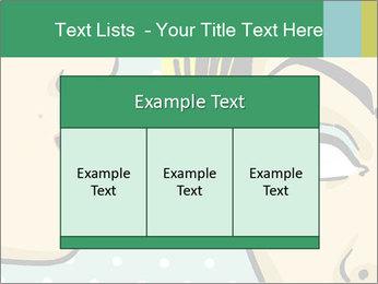 Woman telling secrets PowerPoint Template - Slide 59