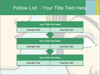Woman telling secrets PowerPoint Template - Slide 60