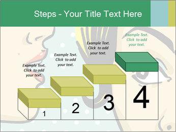 Woman telling secrets PowerPoint Template - Slide 64