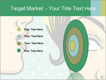 Woman telling secrets PowerPoint Template - Slide 84