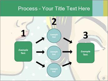 Woman telling secrets PowerPoint Template - Slide 92