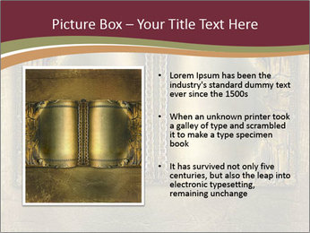 Old ancient book PowerPoint Template - Slide 13
