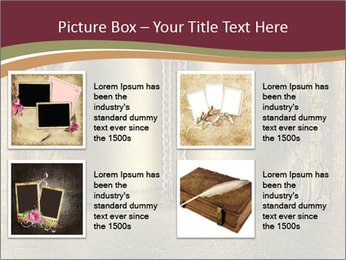 Old ancient book PowerPoint Template - Slide 14