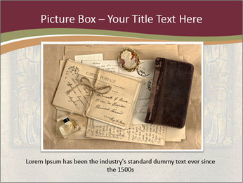 Old ancient book PowerPoint Template - Slide 15