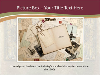 Old ancient book PowerPoint Template - Slide 16