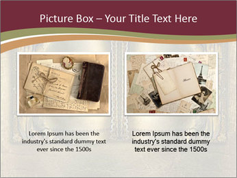 Old ancient book PowerPoint Template - Slide 18