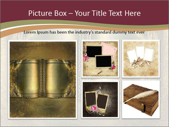 Old ancient book PowerPoint Template - Slide 19