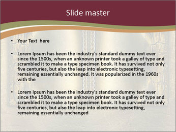Old ancient book PowerPoint Template - Slide 2
