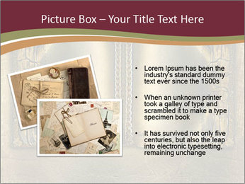 Old ancient book PowerPoint Template - Slide 20