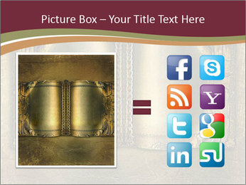 Old ancient book PowerPoint Template - Slide 21