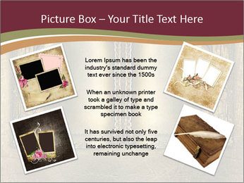 Old ancient book PowerPoint Template - Slide 24