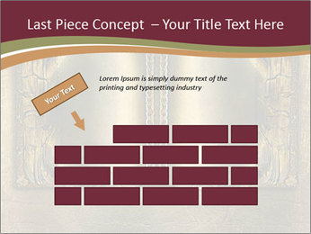 Old ancient book PowerPoint Template - Slide 46