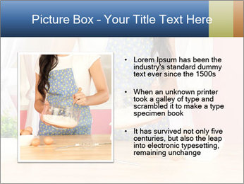 Woman is stirring PowerPoint Template - Slide 13