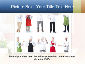 Woman is stirring PowerPoint Template - Slide 15