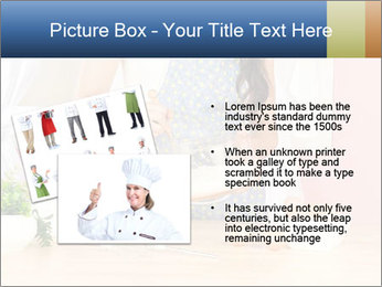 Woman is stirring PowerPoint Template - Slide 20