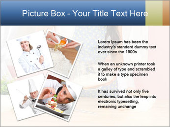 Woman is stirring PowerPoint Template - Slide 23