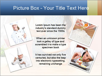Woman is stirring PowerPoint Template - Slide 24
