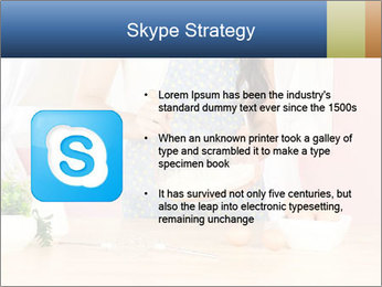 Woman is stirring PowerPoint Template - Slide 8