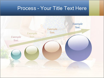 Woman is stirring PowerPoint Template - Slide 87