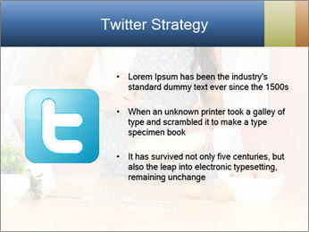 Woman is stirring PowerPoint Template - Slide 9