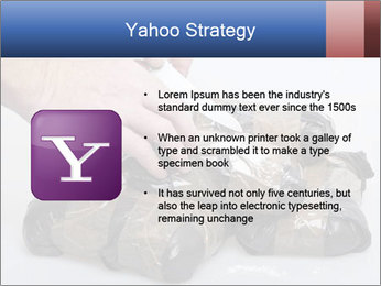 Examining packets of cocaine PowerPoint Template - Slide 11