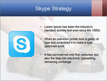 Examining packets of cocaine PowerPoint Template - Slide 8