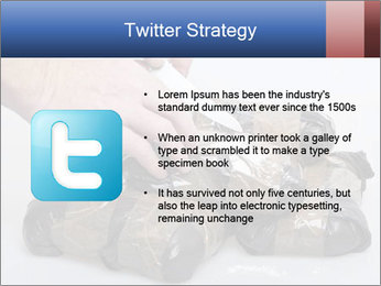 Examining packets of cocaine PowerPoint Template - Slide 9